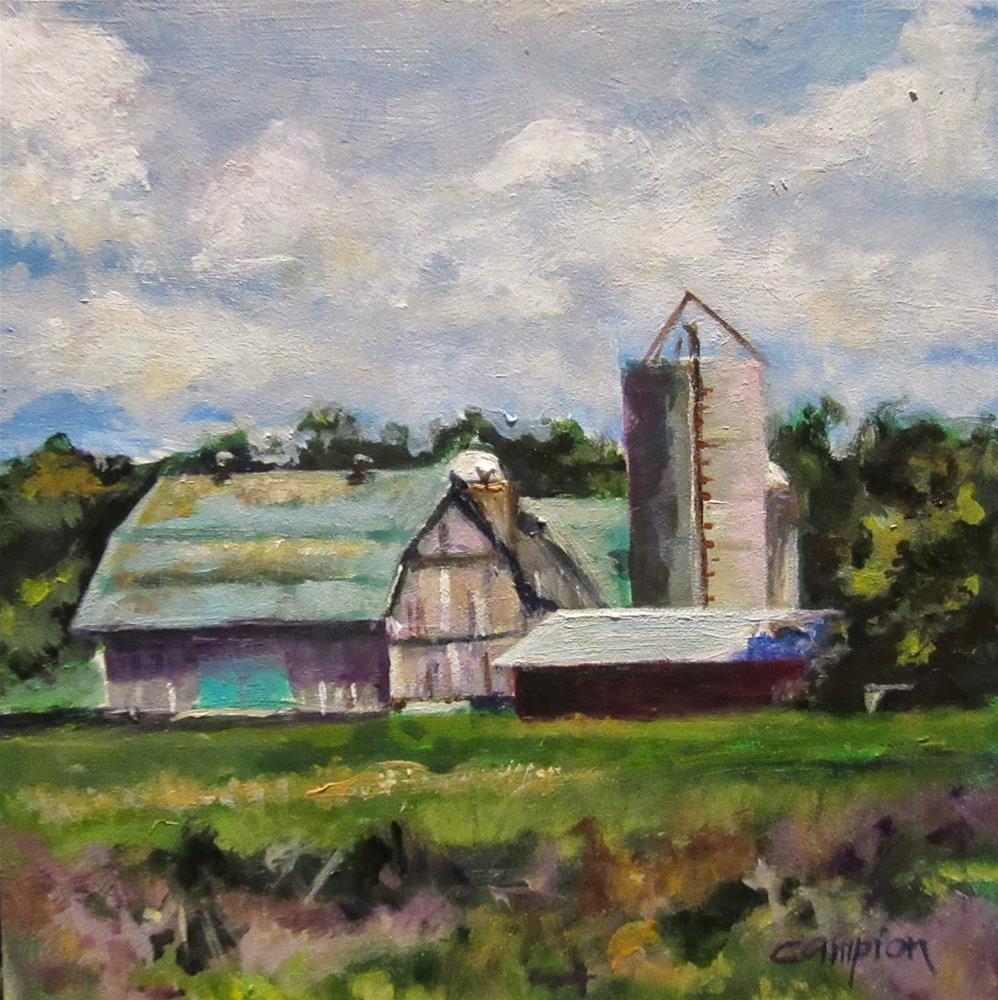 """""""512 Grange"""" original fine art by Diane Campion"""
