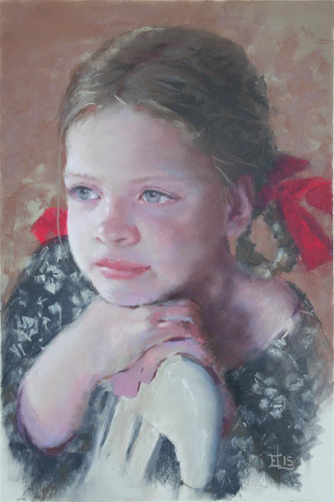 """Aino-Maija"" original fine art by Emilia Leinonen"
