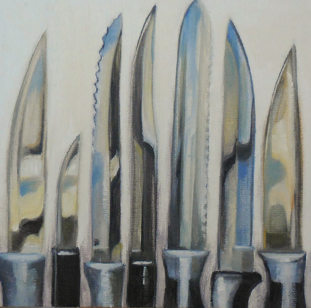 """Blades"" original fine art by Beth Moreau"