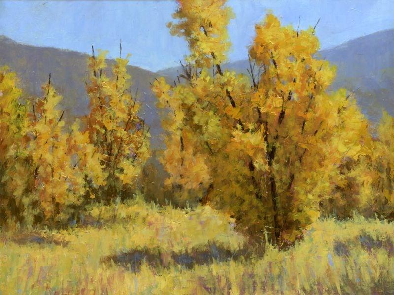 """""""Wild Autumn"""" original fine art by David King"""