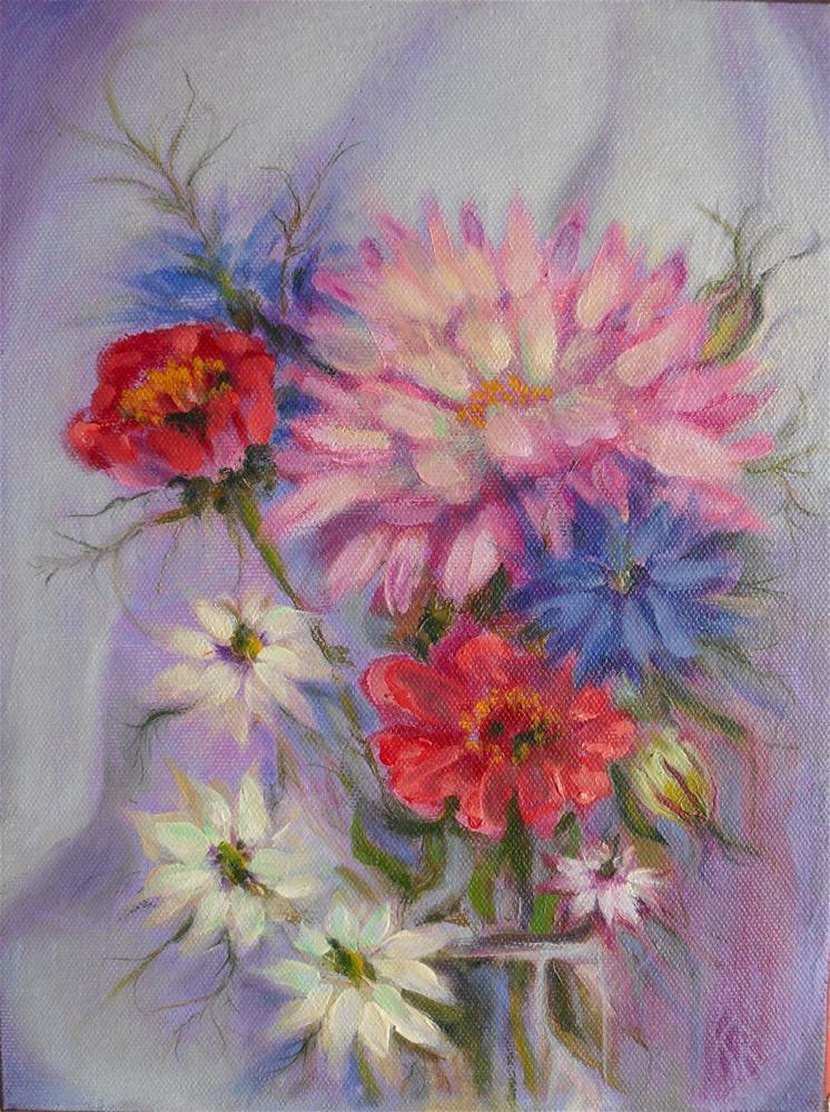 """Mistified"" original fine art by Karen Roncari"
