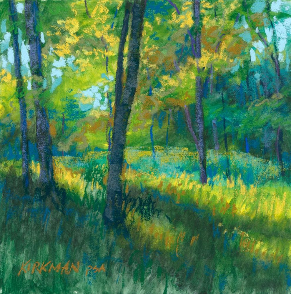 """Small Glade, Morning"" original fine art by Rita Kirkman"