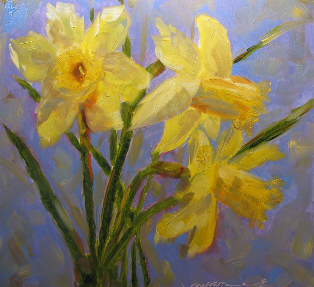 """March Siblings"" original fine art by Susan Elizabeth Jones"