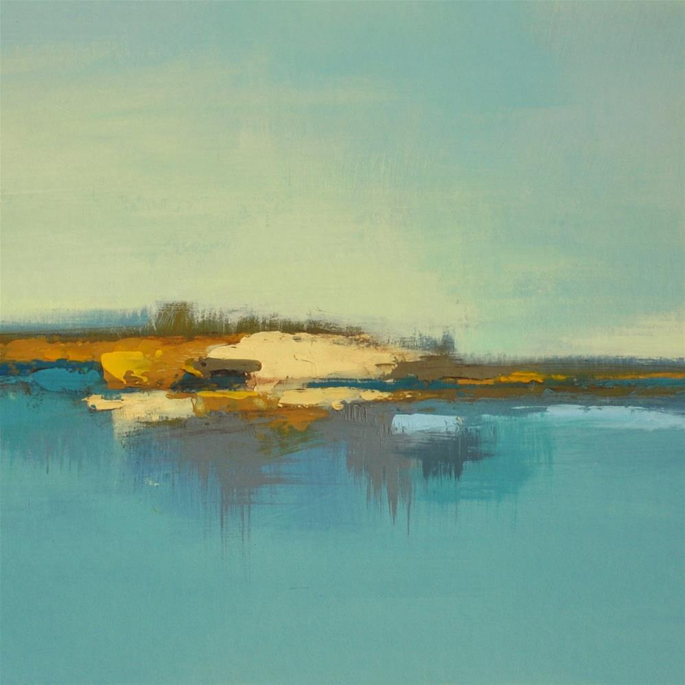"""Landscape 164"" original fine art by Ewa Kunicka"