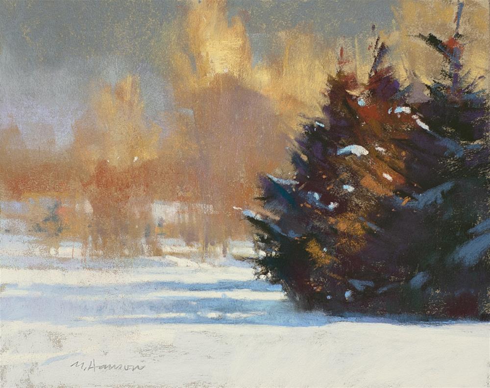 """2-11-3 Casting Shadows"" original fine art by Marc Hanson"