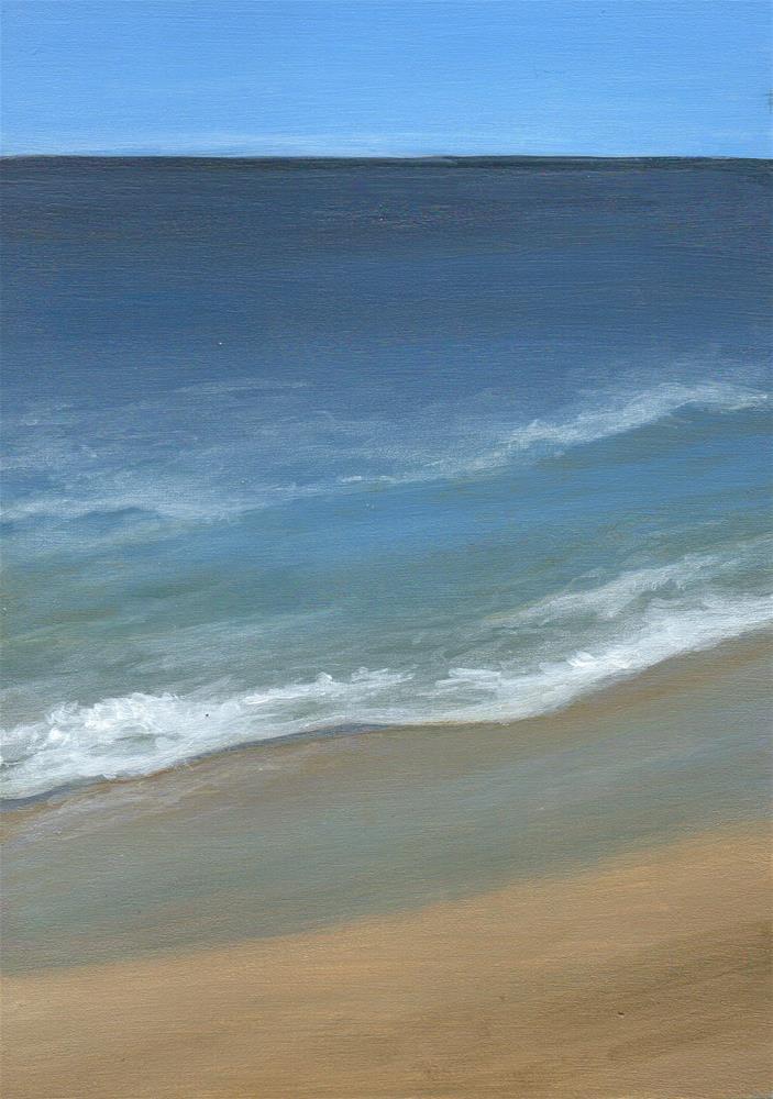 """Calming"" original fine art by Debbie Shirley"