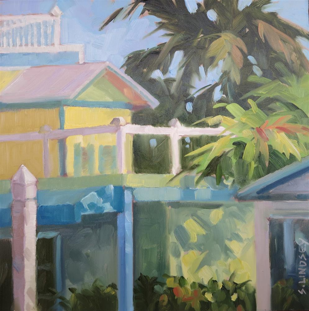 """Parrot Key"" original fine art by Susan Lindsey"