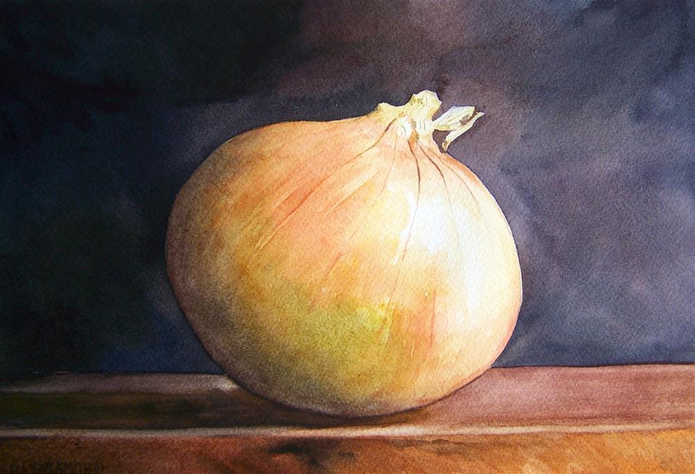 """ A SWEET ONION "" original fine art by Dwight Smith"