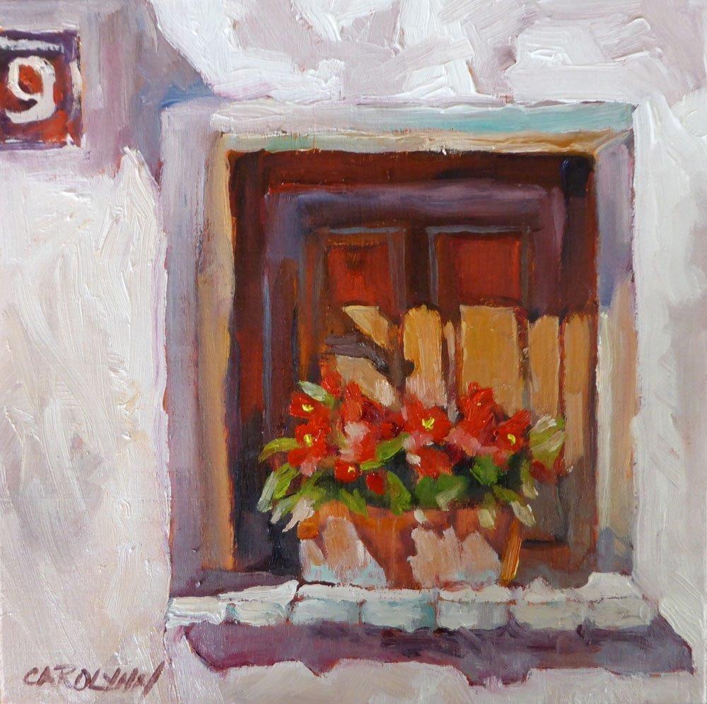 """""""Window of St Paul"""" original fine art by Carolynn Doan"""