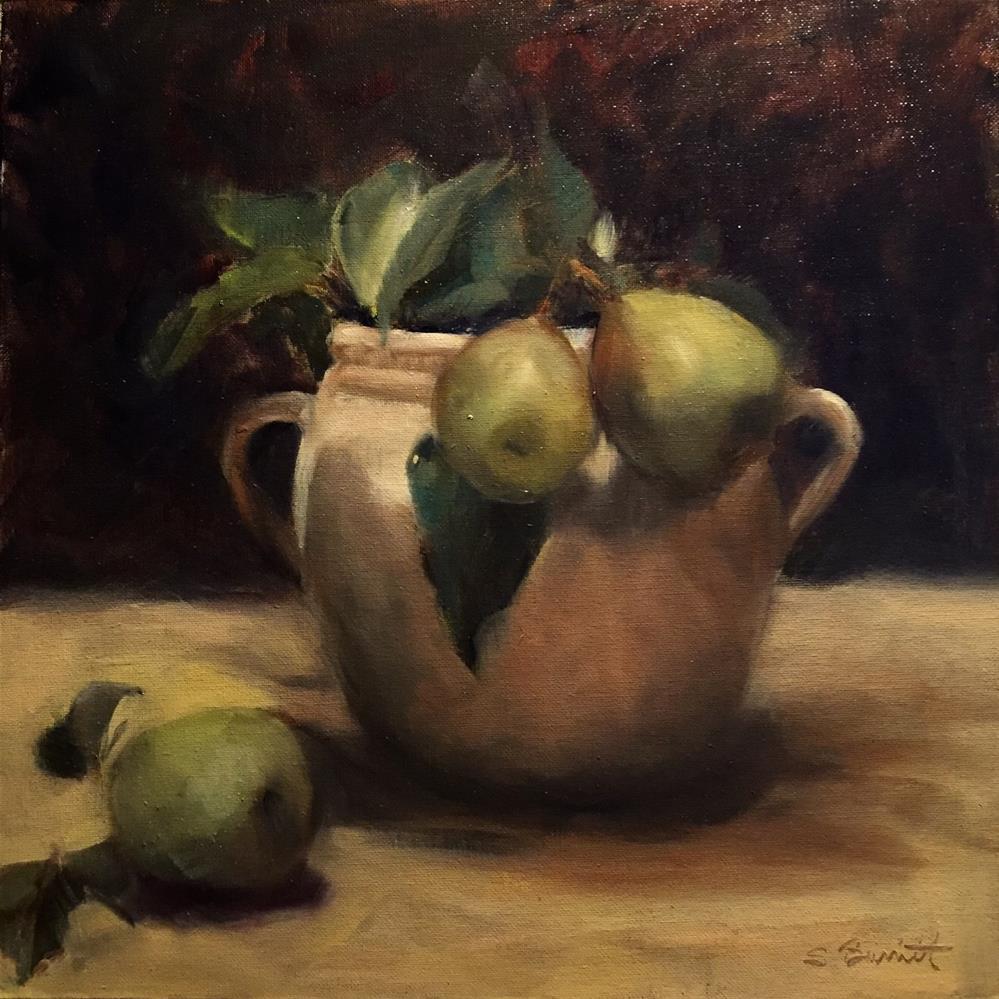 """""""Freshly Picked"""" original fine art by Sherri Burritt"""