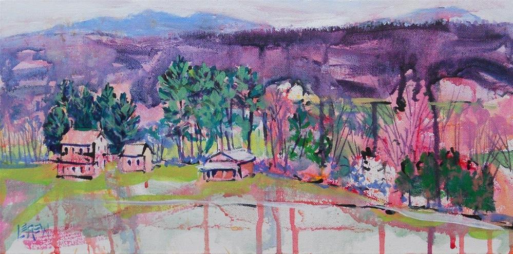 """""""Dover Distilled by Larry Lerew #12-03-10"""" original fine art by Larry Lerew"""