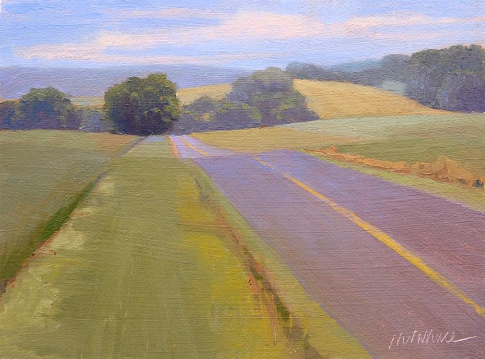 """#78 Skuffletownroad1"" original fine art by Nancy Wallace"