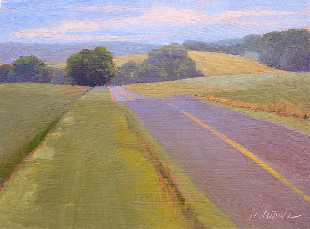 """""""#78 Skuffletownroad1"""" original fine art by Nancy Wallace"""