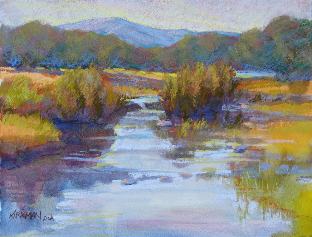 """Hill Country Creek"" original fine art by Rita Kirkman"