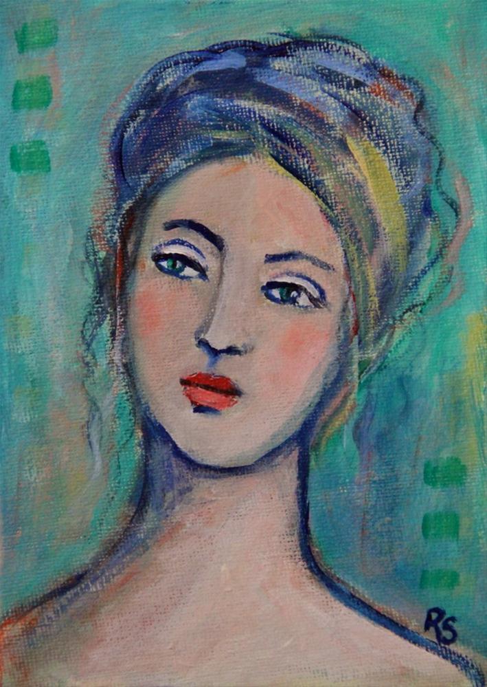 """Annabelle"" original fine art by Roberta Schmidt"