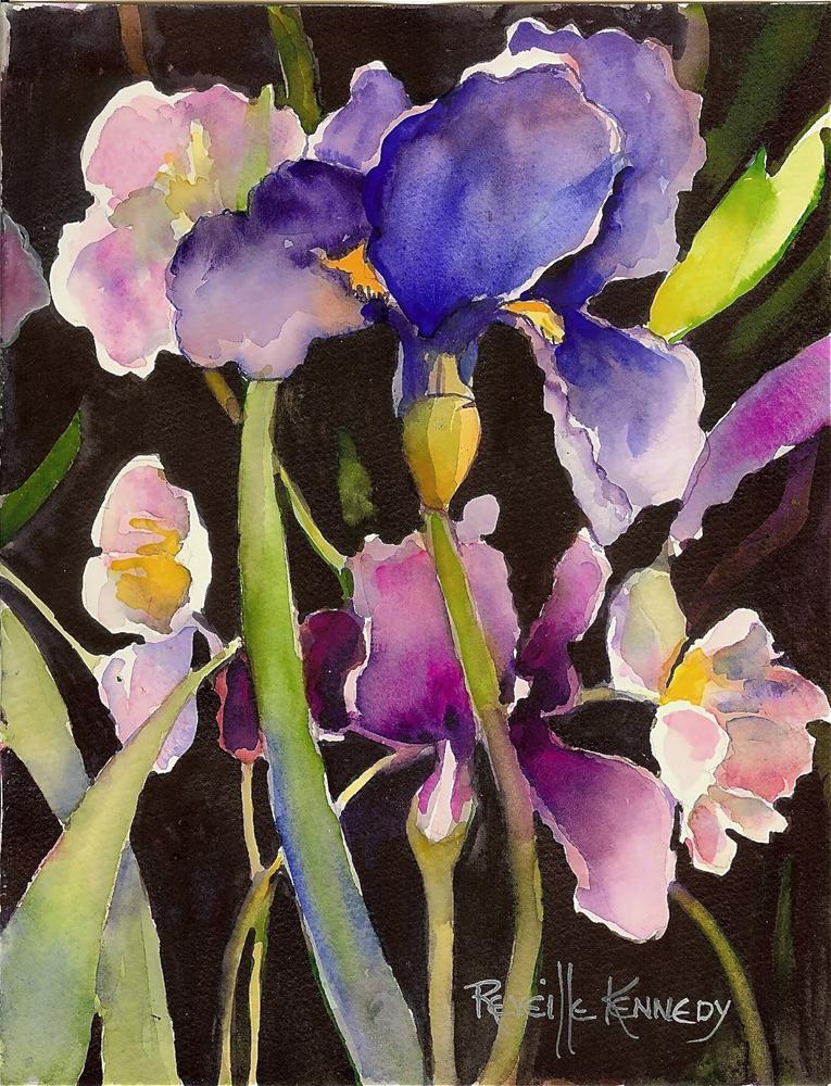 """Amadeus' Spring"" original fine art by Reveille Kennedy"