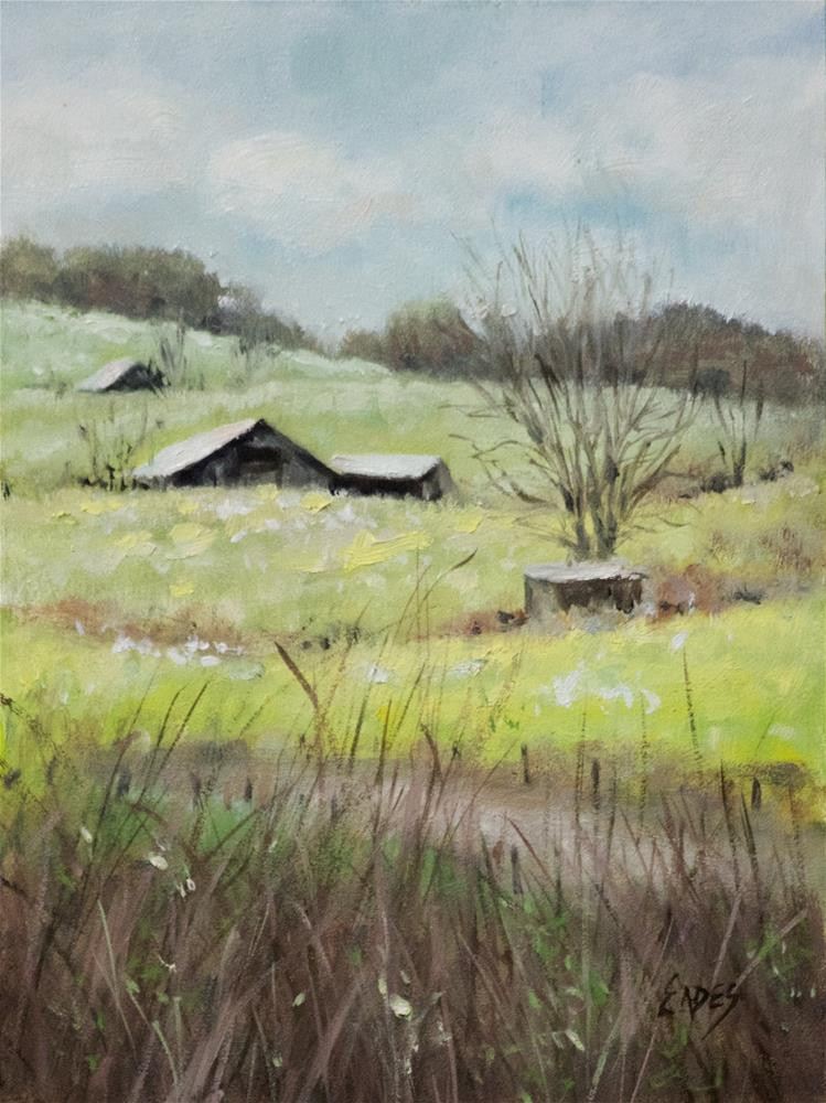 """Near David's"" original fine art by Linda Eades Blackburn"
