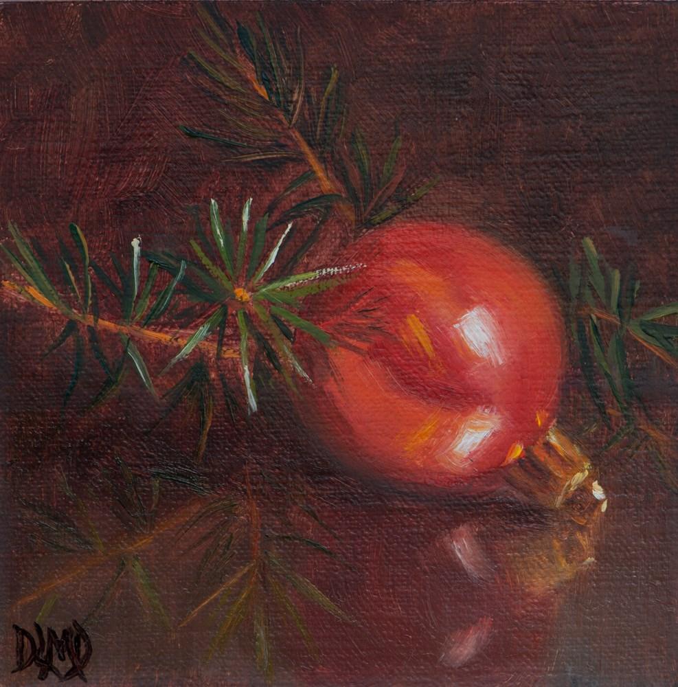 """Christmas Spirit"" original fine art by Debbie Lamey-Macdonald"