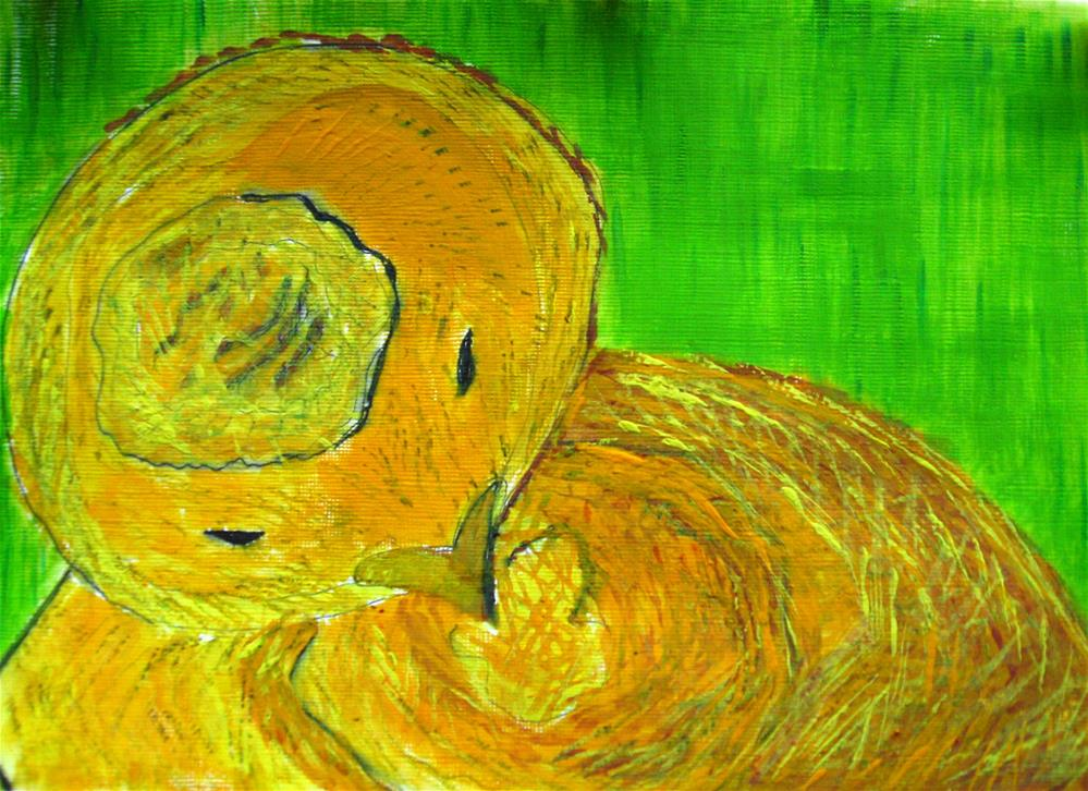 """Nap Time"" original fine art by Alina Frent"