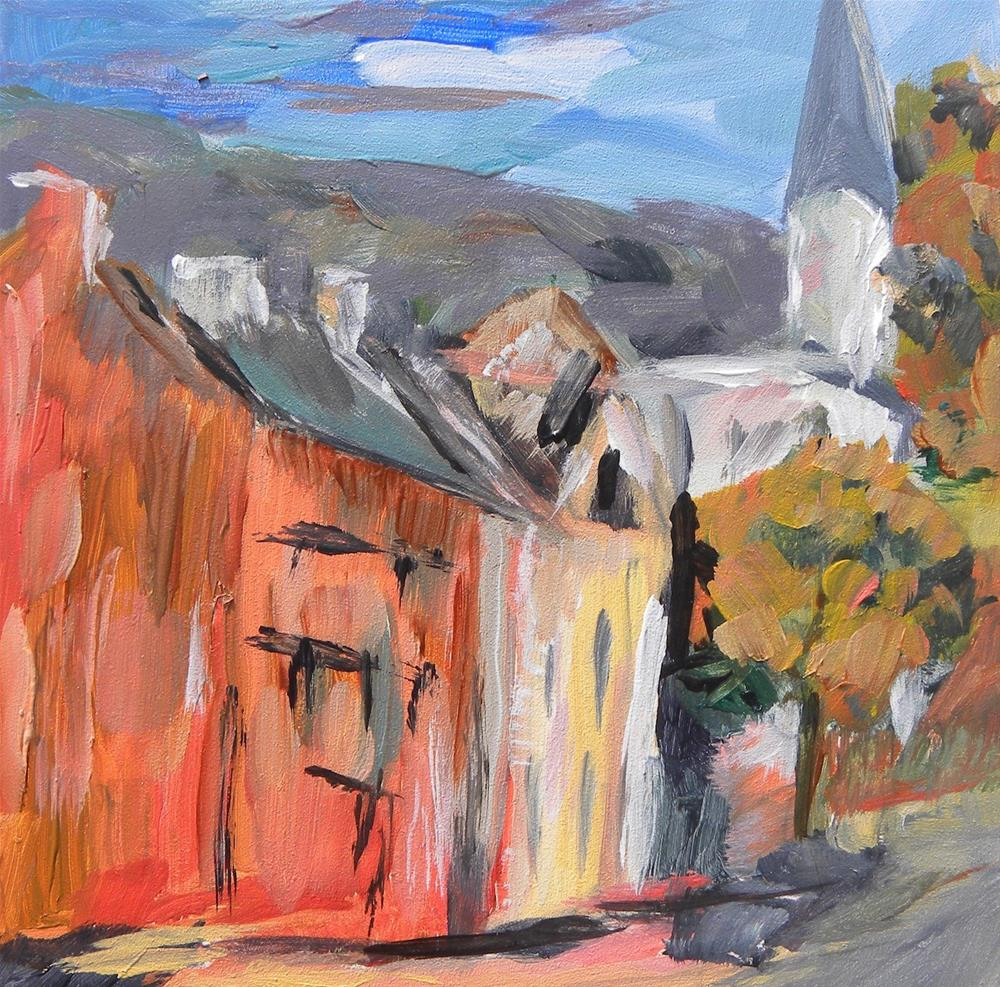 """Fincastle"" original fine art by cheryl buhrman"