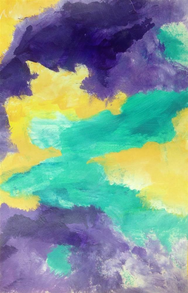 """COLOR, Day 4"" original fine art by Dotty Seiter"