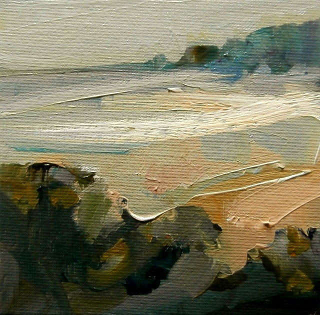 """Edge of the Bay"" original fine art by Anne Wood"