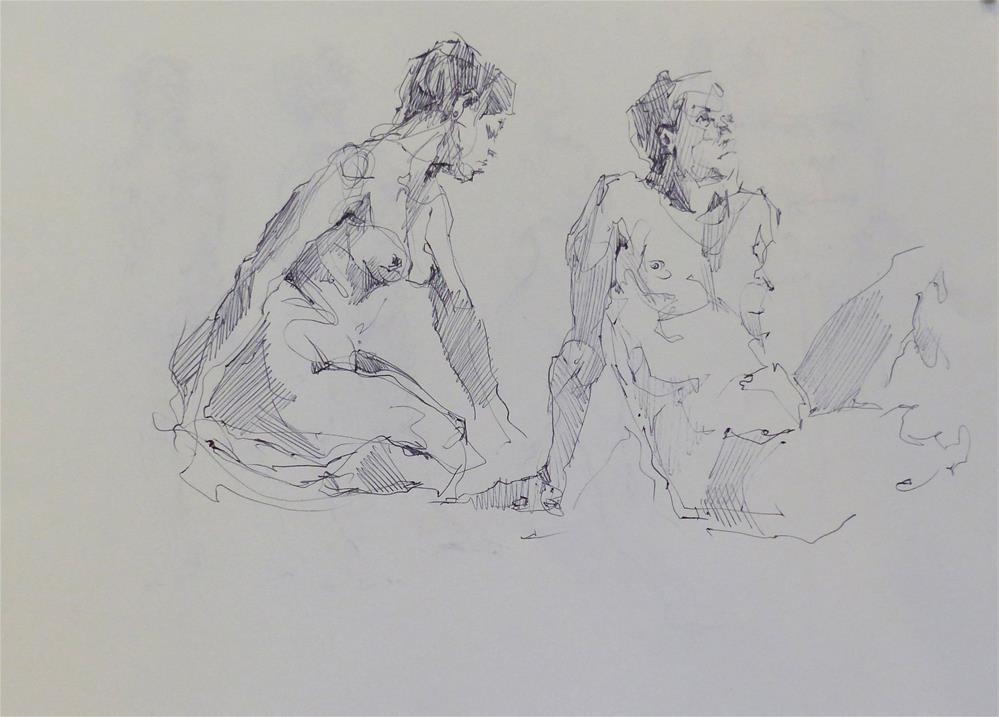 """sketchbook62"" original fine art by Katya Minkina"