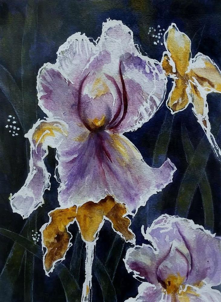 """Evening Beauties"" original fine art by Cathy Dykstra"