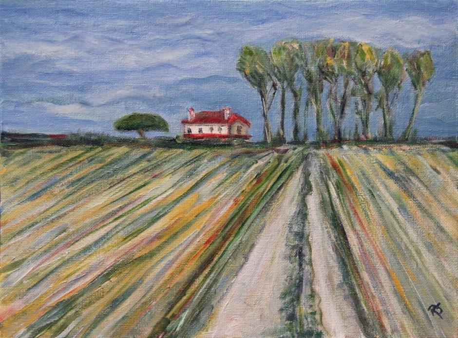 """""""Almost Home"""" original fine art by Roberta Schmidt"""