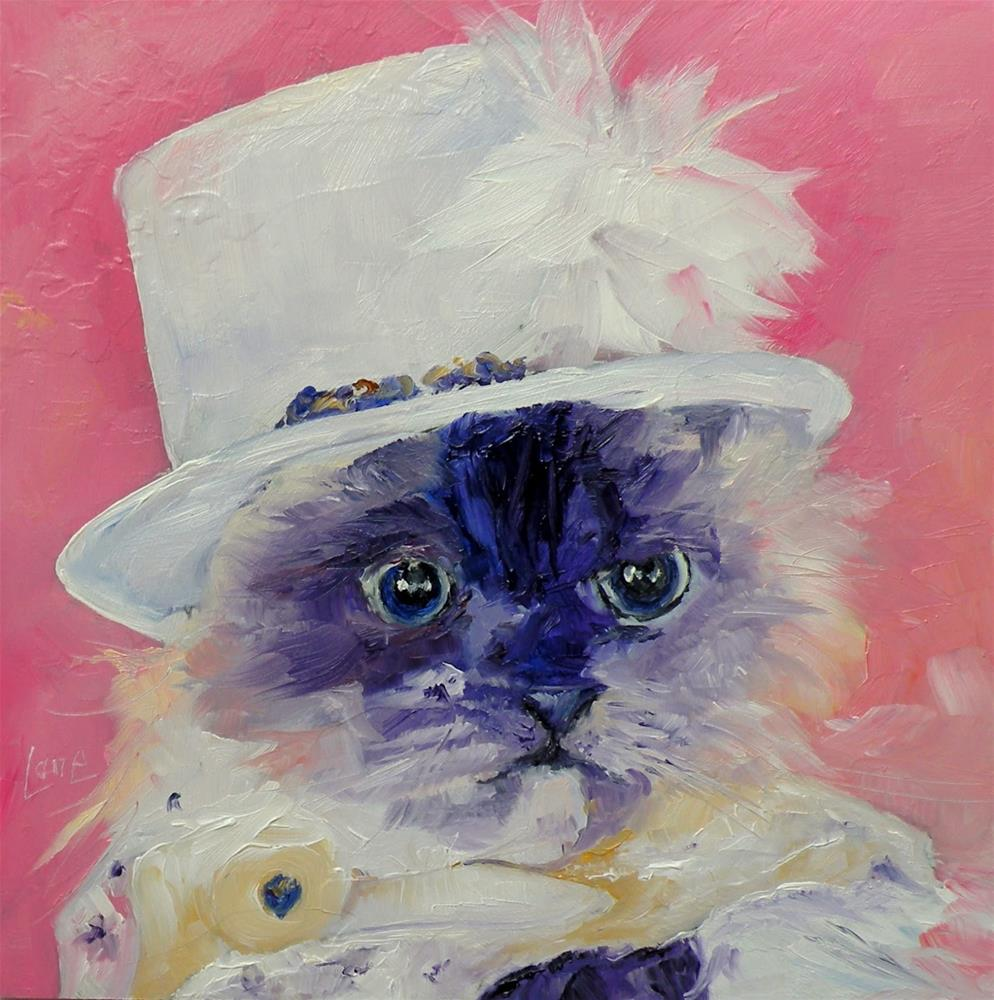 """HUMBUJ 71/101 PET PORTRAITS IN 101 DAYS © SAUNDRA LANE GALLOWAY"" original fine art by Saundra Lane Galloway"