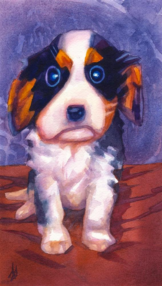 """Zoey"" original fine art by Mark Allison"