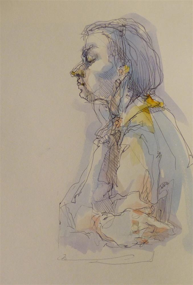 """sketchbook21"" original fine art by Katya Minkina"