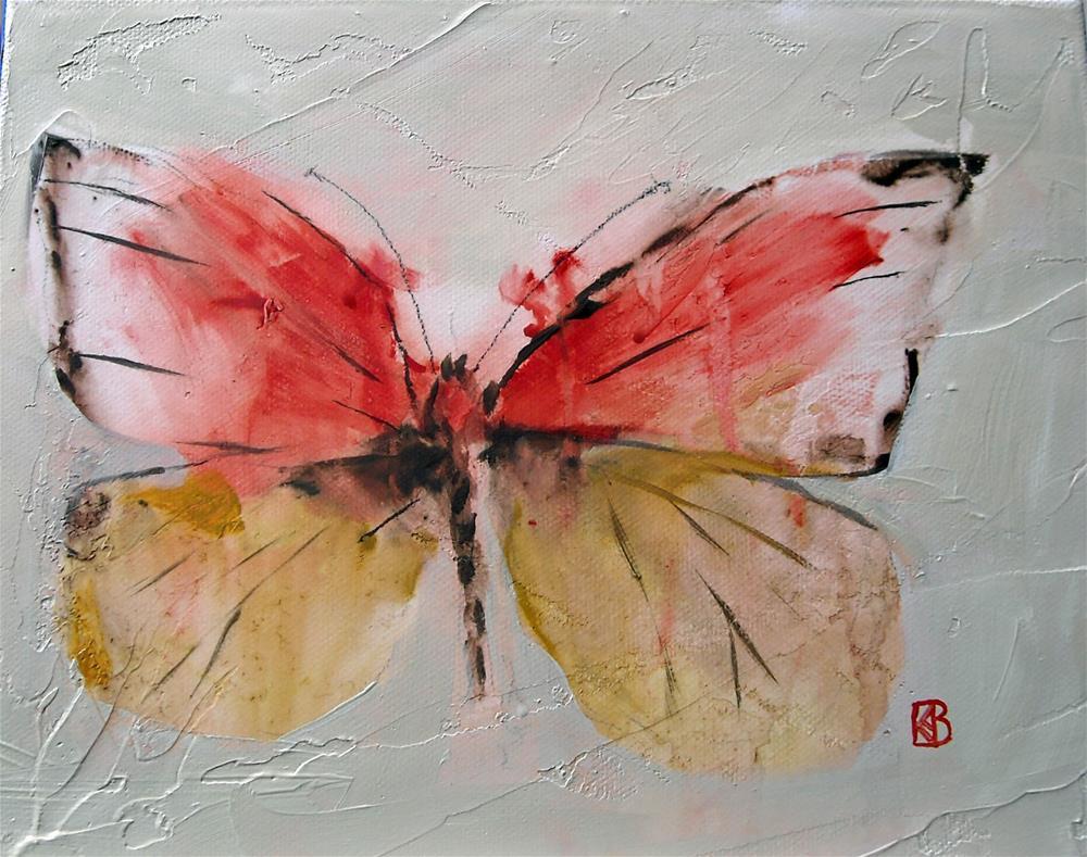 """In Gracefulness"" original fine art by Kathleen Barnes"