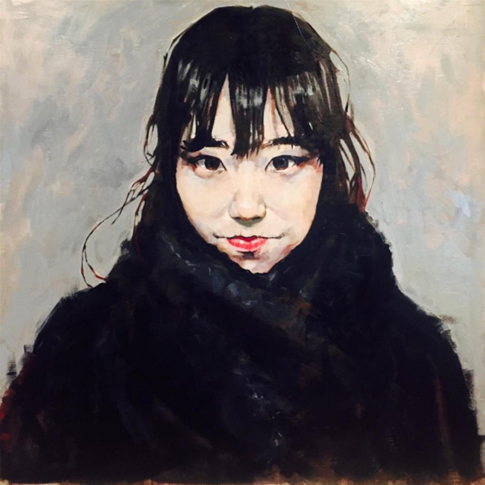 """Yumi"" original fine art by Chris Long"