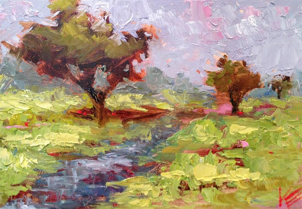 """""""Wandering"""" original fine art by Krista Eaton"""
