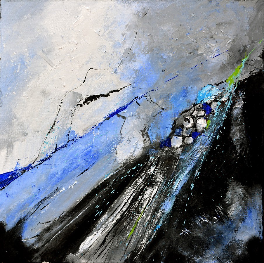 """abstract 7751204"" original fine art by Pol Ledent"