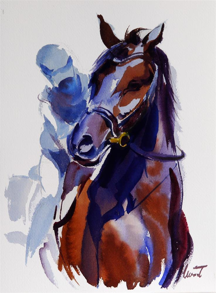 """karol"" original fine art by Beata Musial-Tomaszewska"