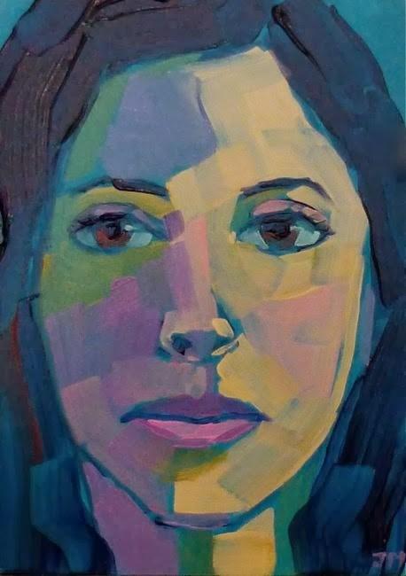 """Half-Hour Portrait Commission"" original fine art by Jessica Miller"