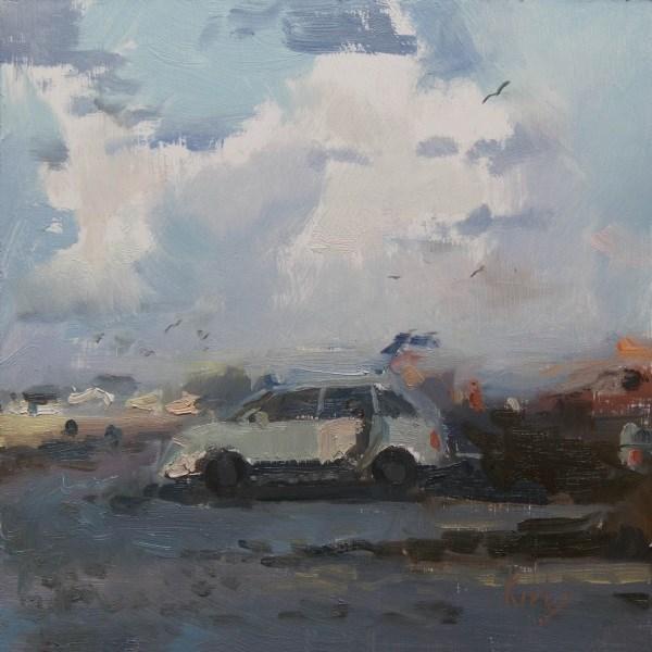 """""""Towering Clouds"""" original fine art by Randall Cogburn"""