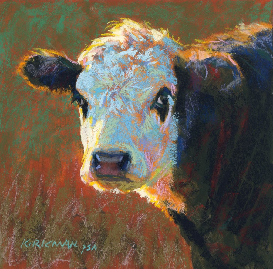 """Rookie"" original fine art by Rita Kirkman"