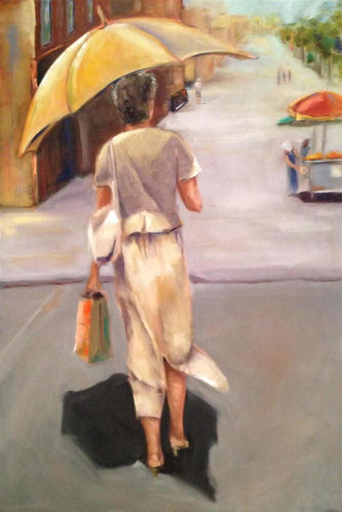 Before and After - Tale of a DO OVER original fine art by Maria Bennett Hock