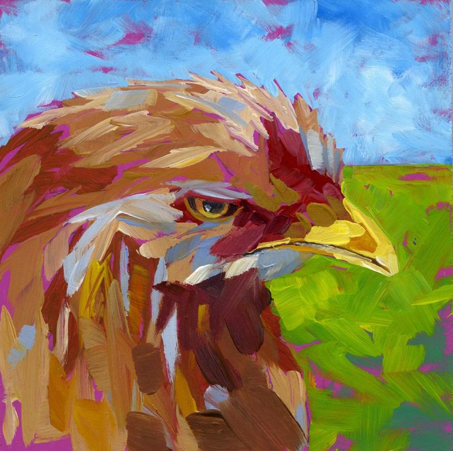 """""""The Eye"""" original fine art by Eileen Hennemann"""