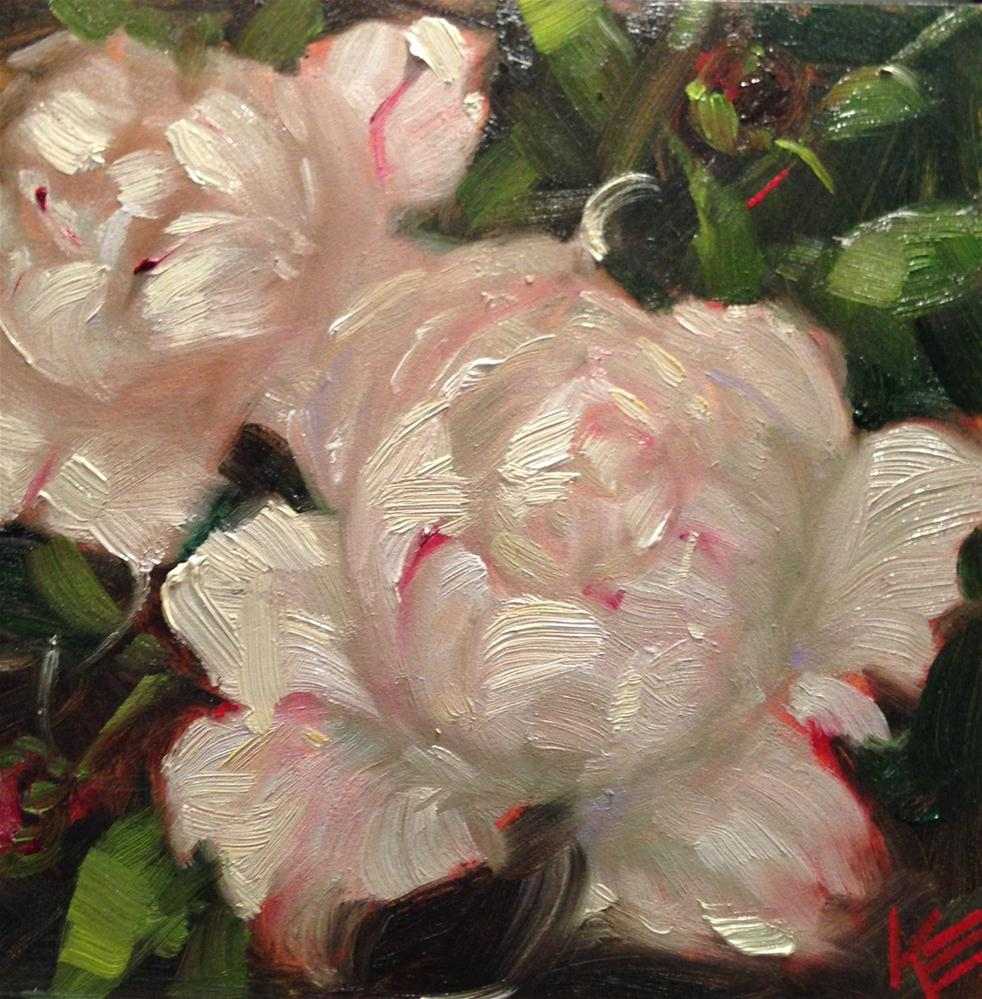 """Purity"" original fine art by Krista Eaton"