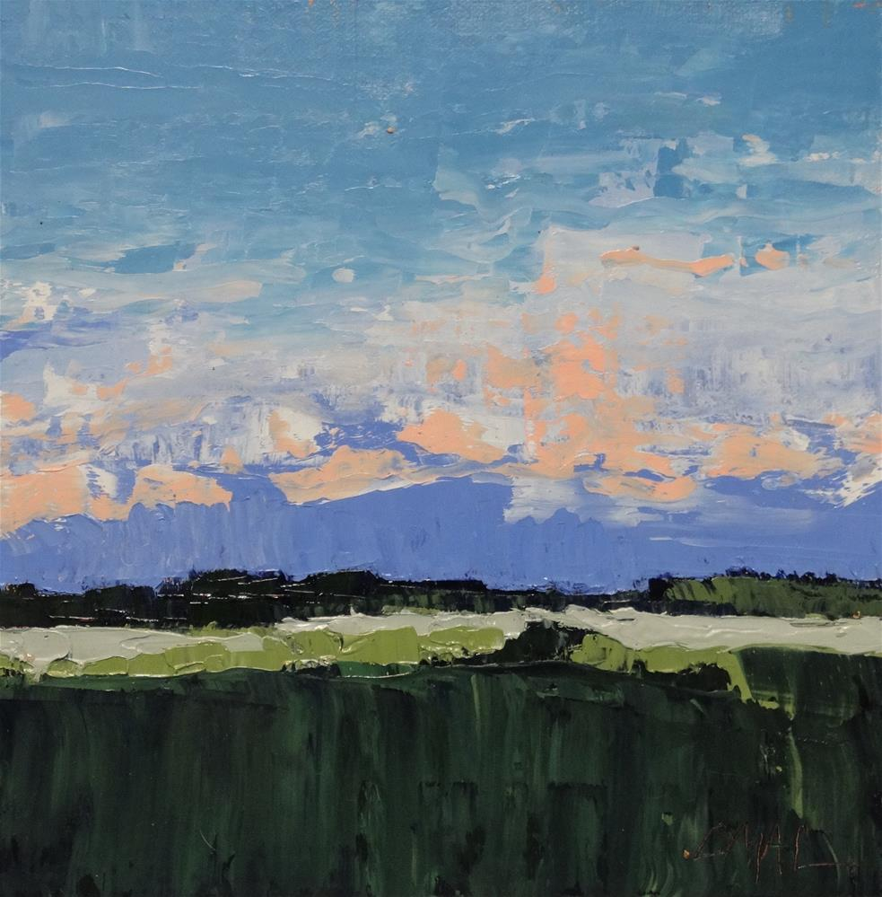 """Landscape 20"" original fine art by Carolyn McDonald"
