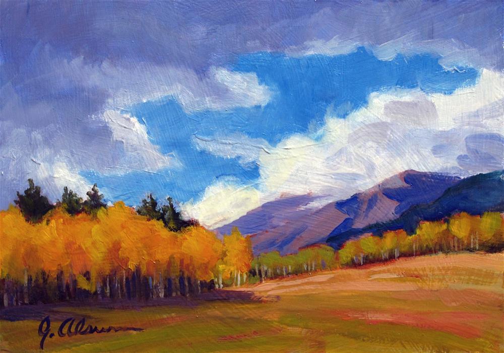 """""""Restless Season"""" original fine art by Gary Alsum"""