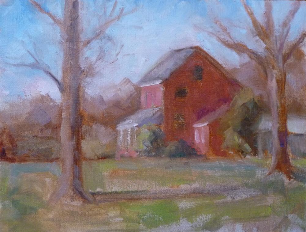 """Silver Ridge Farm"" original fine art by Carol Josefiak"