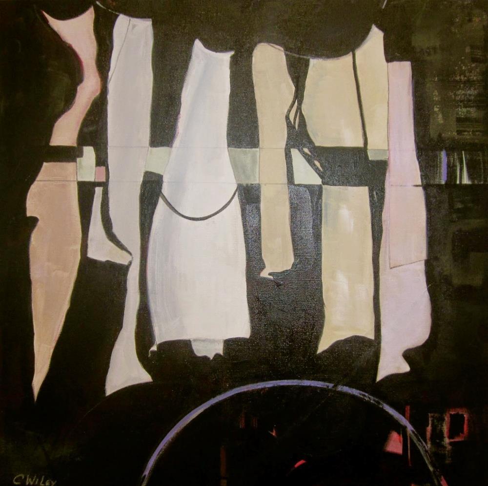 """""""Alumnae"""" original fine art by Carol Wiley"""