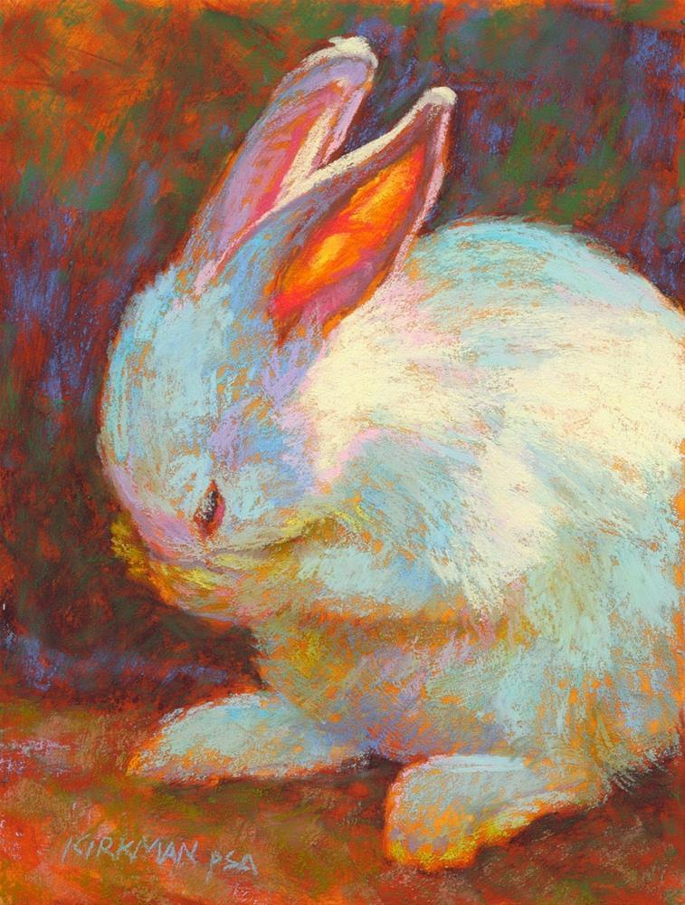 """Sniffles"" original fine art by Rita Kirkman"
