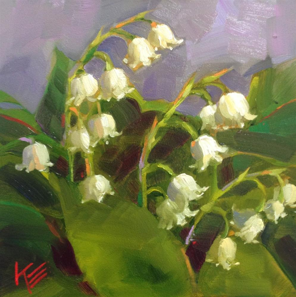 """May Flowers"" original fine art by Krista Eaton"