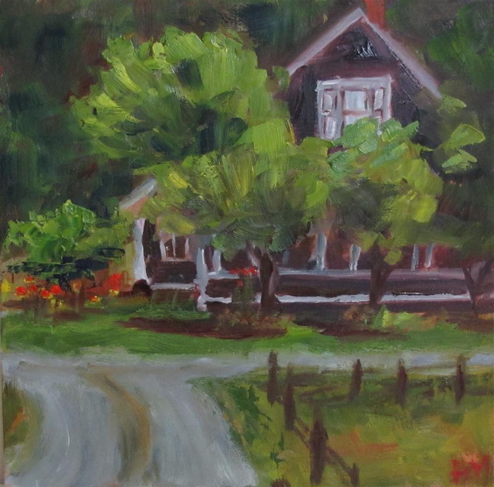 """Valley Ford Road"" original fine art by Helen Moreda"